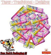 PEZ FIZZY FRUIT CANDY REFILLS MIX FLAVOURS SWEETS FOR PEZ DISPENSER BOILED RETRO
