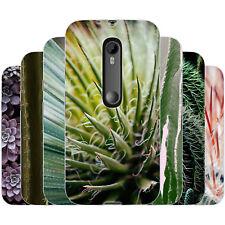 Dessana Cactus Funda Protectora Silicona Carcasa Móvil Estuche para Motorola