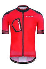 LOOK ULTRA Homme Maillot de cyclisme 00015344 Rouge À Manches Courtes Vélo Haut T-Shirt