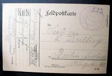 GERMANY FELDPOSTKARTE 1915 WWI