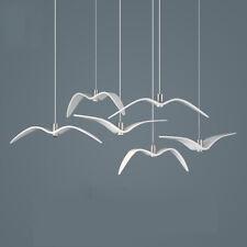 Modern Bird Pendant Lamp LED Ceiling Light Hanging Dining Hall Art Lightings