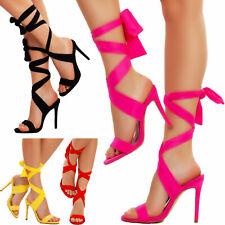 c4d04c4fd0a834 Scarpe donna sandali lacci schiava tacchi alti gladiatore sexy TOOCOOL  2B4L18223
