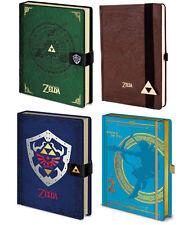 Legend of Zelda Premium Journal Notebook Official Licensed Leather Pyramid UK
