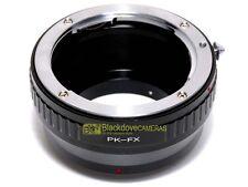Anello adapter per montare ottiche Pentax K su corpi Fuji X-Pro 1. Adattatore.