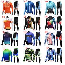 2020 Miloto Bicycle Clothing Men Set Long Sleeve Cycling Jersey Pants Tight Kit