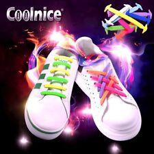Lazy no-Tie Elástico Silicona Cordones Zapato de anclaje por coolnice: Zapatillas Zapatos Botas