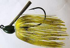 Bob4Bass Skirted Grass Jig Yellow Perch US018