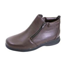 6cf37301c6ef FIC PEERAGE Juliet Women Wide Width Leather Casual Ankle Boots