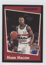1993-94 Panini Album Stickers #82 Mark Macon Denver Nuggets Basketball Card