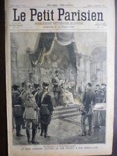 LE PETIT PARISIEN 1898 TSAR NICOLAS II COLONEL HENRY