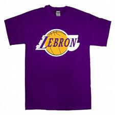 "Lebron James Los Angeles Lakers ""Logo"" T-Shirt"