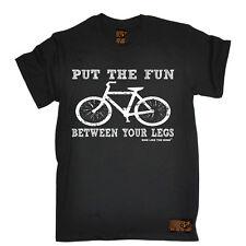 Ciclismo poner la diversión entre Top Gracioso Cumpleaños Camiseta Camiseta Camiseta