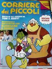 Corriere dei Piccoli 38 1990 Mega Poster Aldo Serena e Klinsmann