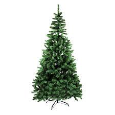 Weihnachtsbaum künstlich 180/210 cm Christbaum Tannenbaum grün Edeltanne