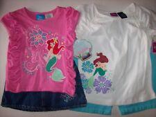 Ariel The Little Mermaid Disney Girls 4 6/6X Skort Bike Shorts 2pc Set Assorted