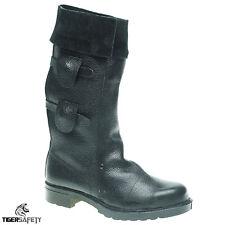 Toesavers F035 Black High Leg Foundry Welders Welding Steel Toe Cap Safety Boots