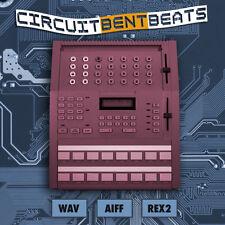 Circuit Bent Beats Drum Loops WAV AIFF REX2 Cubase Logic Reason FL Studio Sonar