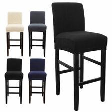 Luxury Soft Elastic Velvet Chair Seat Cover Bar Stool Cover Wedding Dining  Hot