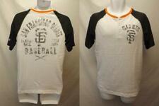 New San Francisco Giants Mens Sizes S-L-XL-2XL New Era Raglan Shirt