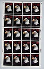 #2540  $2.90  Eagle  Margin Misperf Error Full sheet of 20  MNH OG Fresh