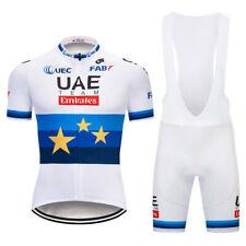 Kja479 Mens Mtb Cycling Short Sleeve Jersey Bib Shorts Sport wear Sets