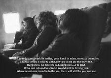 LED Zeppelin gracias planta y la página Rock Música Banda cartel de imagen letras de canciones