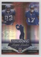 2007 Playoff Prestige LL-19 Darrell Jackson Plaxico Burress New York Giants Card