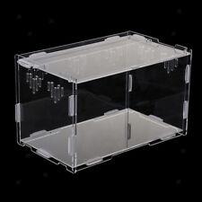 Acryl Terrarium Fütterungsbox Für Reptilien Schlange Eidechse Frosch