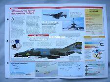 Aircraft of the World Card 99 , Group 4 - McDonnell Douglas F-4G Phantom II