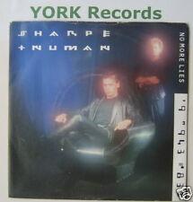 """SHARPE & NUMAN - No More Lies - Excellent Con 7"""" Single"""