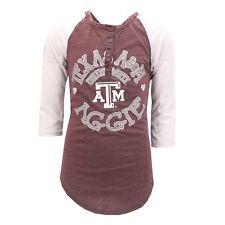 Texas A&M Aggies Official NCAA Junior Teen Girls Size Long Sleeve Shirt New Tags