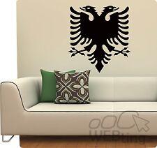 Wandtattoo albanischer Adler Flagge Wandaufkleber Aufkleber Sticker Albanien