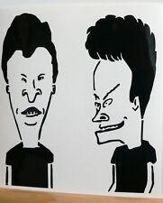 adesivo Beavis and Butthead sticker decal auto moto cartoon animazione funny