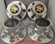 6-LUG CHEVROLET 4X4 6lug 1500 SILVERADO SUBURBAN BLAZER Wheel Center Cap SET NEW