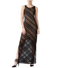 bar III Womens Striped Maxi Dress