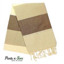 Cotton Turkish Towel Beach American Grey Black Red Stripe Carob Picnic