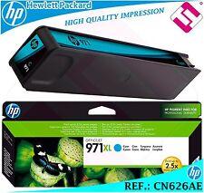 TINTA CIAN 971XL ORIGINAL IMPRESORAS HP CARTUCHO CYAN HEWLETT PACKARD CN626AE