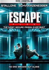 Escape Plan DVD Sylvester Stallone, Arnold Schwarzenegger JIM Caviezel Brand New