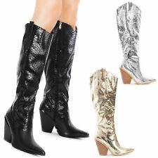 Scarpe donna stivali stivaletti texani coccodrillo camperos TOOCOOL Q4X1132-7