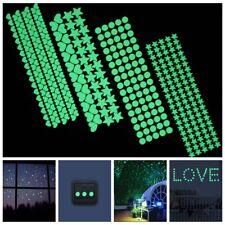 Art Home Decoration Luminous Wall Stickers Kids Rooms Decor Fluorescent Decals