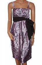 C032-Femmes Violet Soirée bal robe de soirée-UK 8, 10, 12 & 14