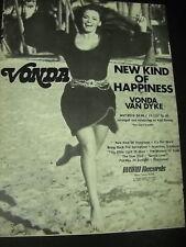 Vonda Van Dyke 1971 Promo Ad A New Kind Of Happiness