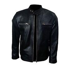 Bradley Cooper Fashionable Biker Real Leather Stylish Jacket