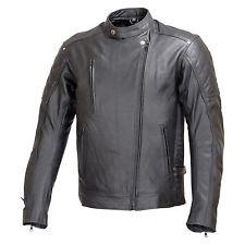 Men Motorcycle Armor Leather Jacket Rocker Style by Xtreemgear Black MBJ030
