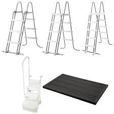 Intex Sicherheitsleiter Poolleiter Einbautreppe Doppelstufe Bodenelement Dusche
