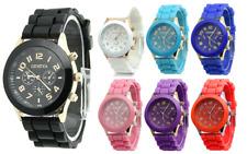 Orologio Donna Geneva Sportivo Jelly Silicone Cinturino da Polso Vari Colori