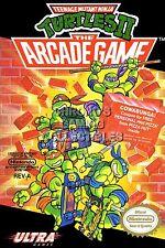 RGC Huge Poster - Teenage Mutant Ninja Turtles II BOX ART Nintendo NES - TMNT02