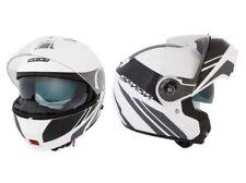 Spada Cyclone Sable blanc / Noir AVANT basculable DVS casque moto NEUF - PROMO