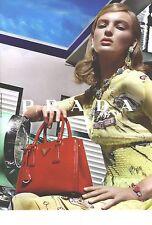 PUBLICITE   2012   PRADA haute couture sacs maroquinerie