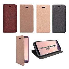 Funda para Samsung Galaxy S8 Plus magnético Purpurina cartera varios colores